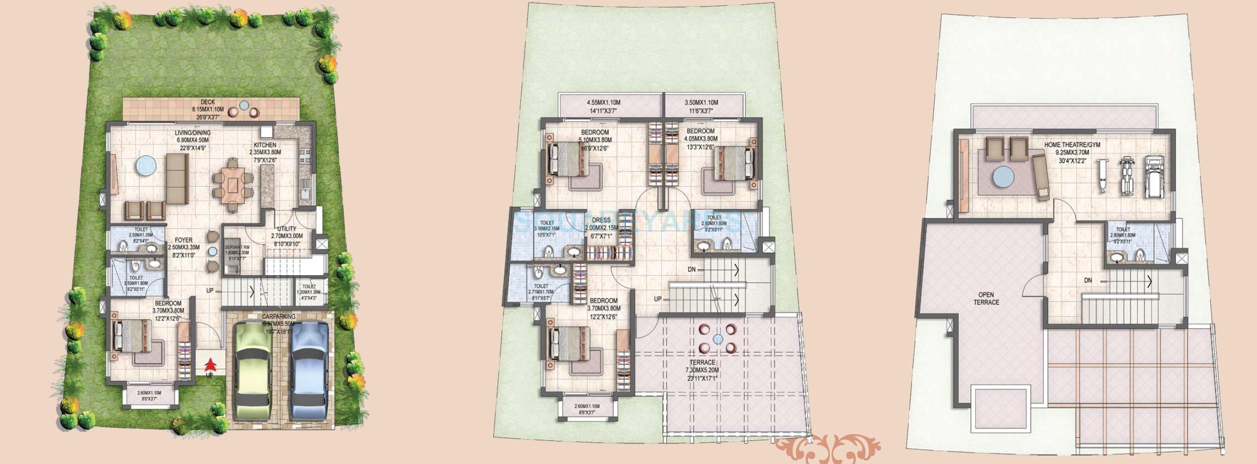 prestige silver oak villa 4bhk 4176sqft1