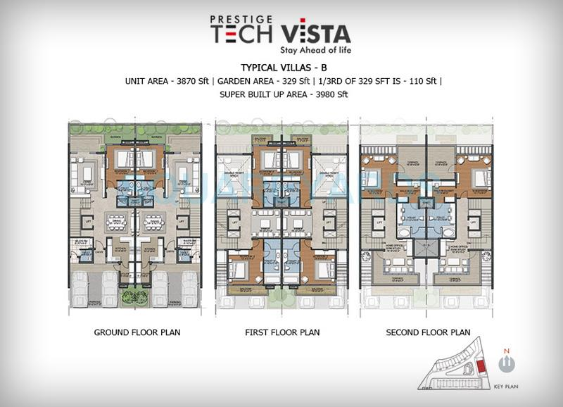 prestige tech vista villa 4bhk 3980sqft1