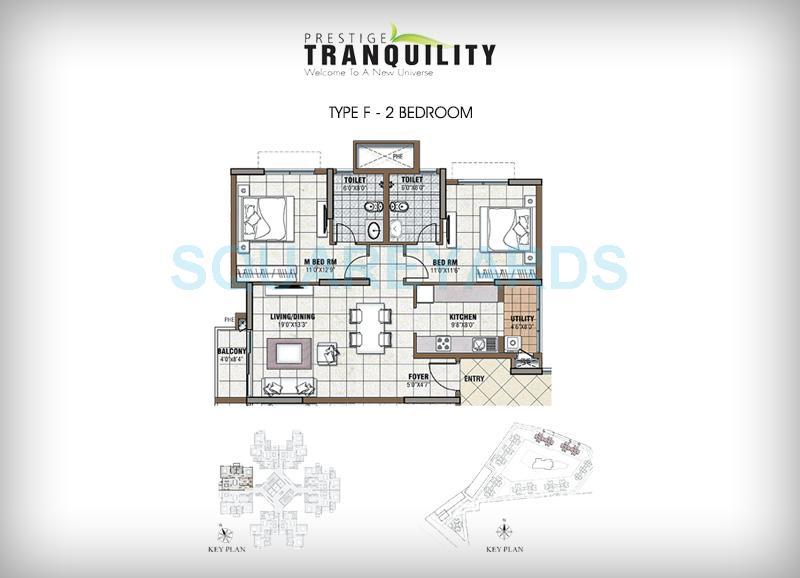 prestige tranquility apartment 2bhk 1162sqft1