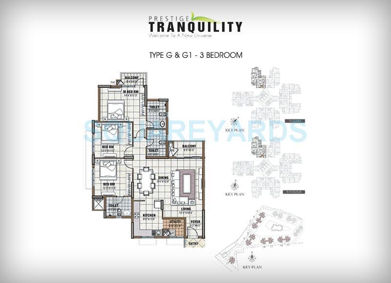prestige tranquility apartment 3bhk 1632sqft1