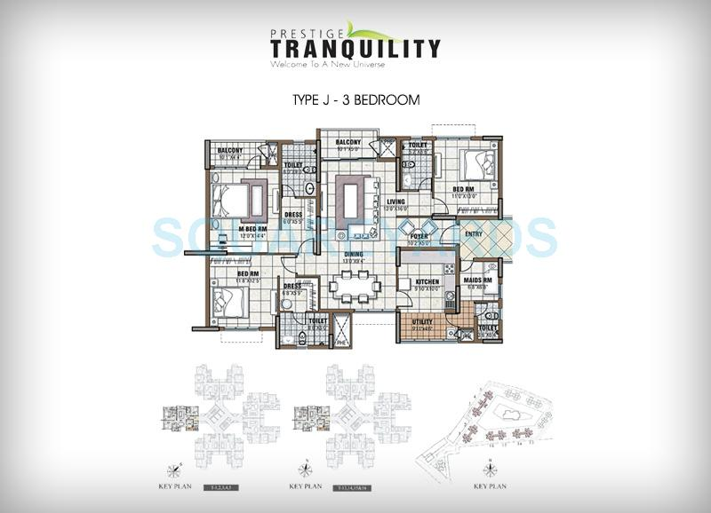 prestige tranquility apartment 3bhk 1991sqft1