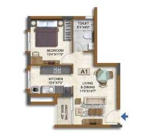 prestige waterford apartment 1 bhk 639sqft 20202401172416