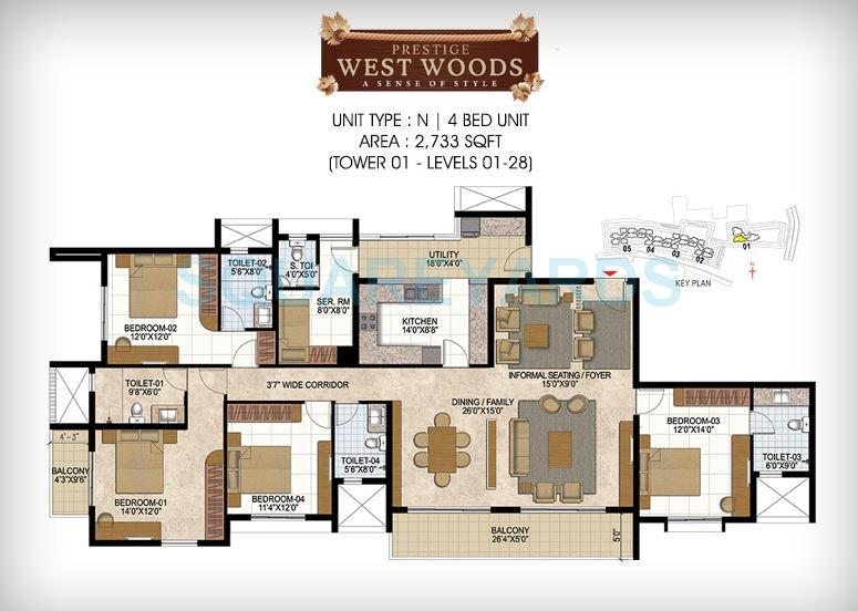prestige west woods apartment 4bhk 2733sqft1