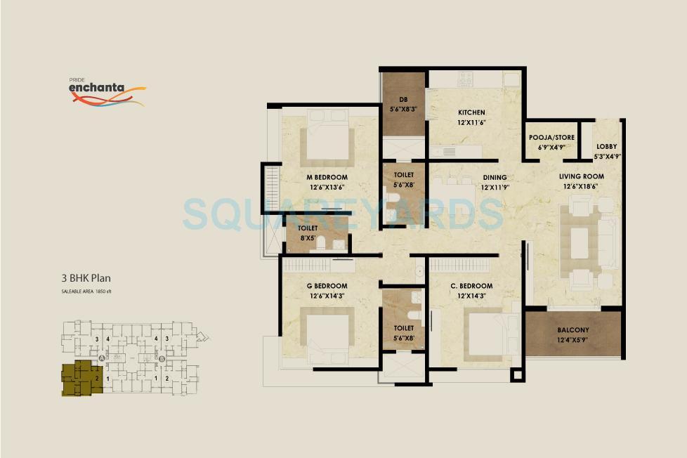 pride enchanta apartment 3bhk 1850sqft1