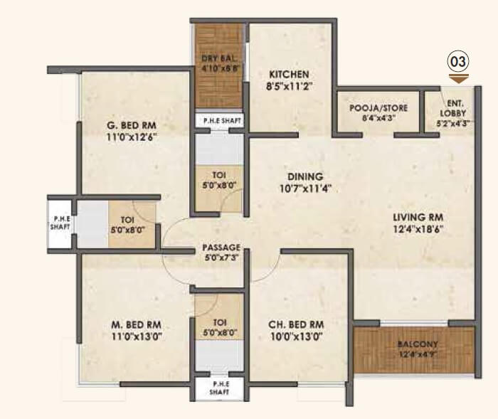 pride palatia apartment 3bhk 1572sqft 1