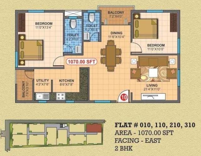prodaacon mounika espancia apartment 2bhk 1070sqft41