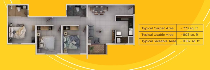 provident sundeck apartment 3 bhk 1082sqft 20211413121443
