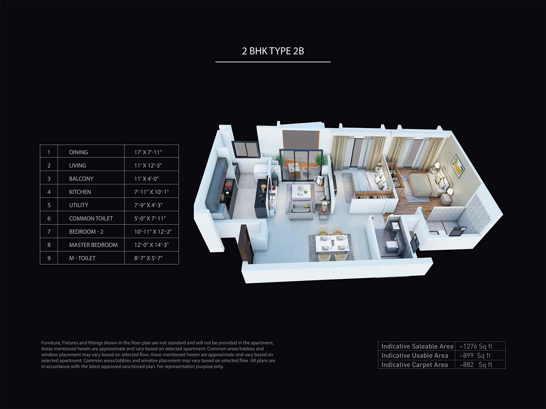 puravankara purva atmosphere apartment 2 bhk 1276sqft 20200904110913