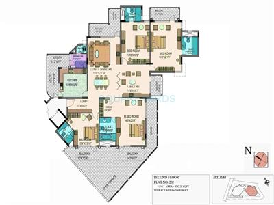 puravankara purva grande apartment 4bhk 3877sqft1
