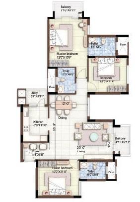 puravankara purva season apartment 3 bhk 1788sqft 20201623131613