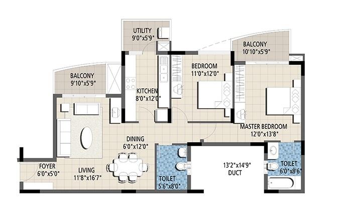 puravankara purva venezia apartment 2 bhk 1267sqft 20211705111742