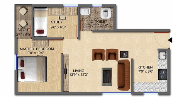 purnima elite apartment 1bhk 650sqft61