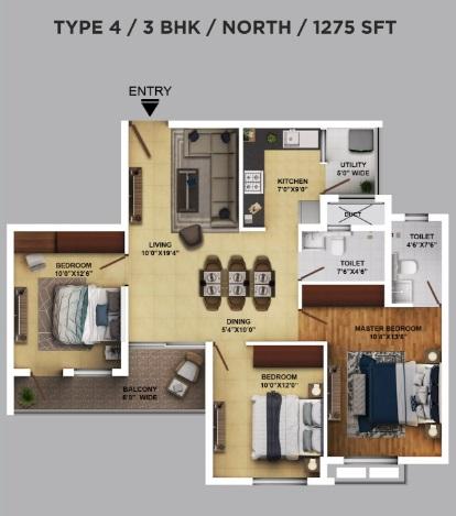 ramky one karnival apartment 3 bhk 1275sqft 20202211142259