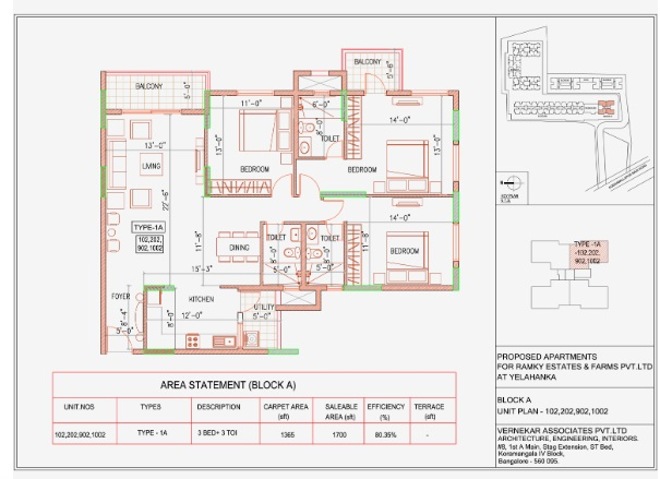 ramky one north phase 3 apartment 3 bhk 1700sqft 20200411120432