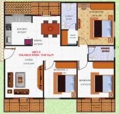 rk green heights apartment 3 bhk 1345sqft 20211508161500