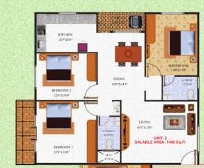 rk green heights apartment 3 bhk 1460sqft 20211508161527