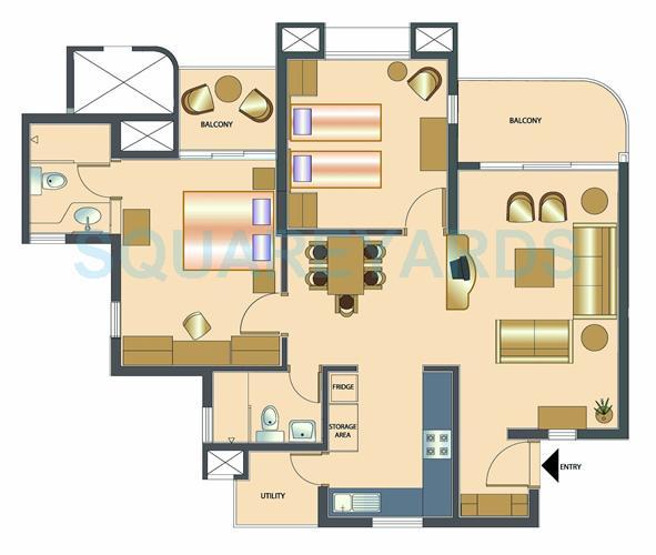 rohan vasantha apartment 2bhk 1166sqft1