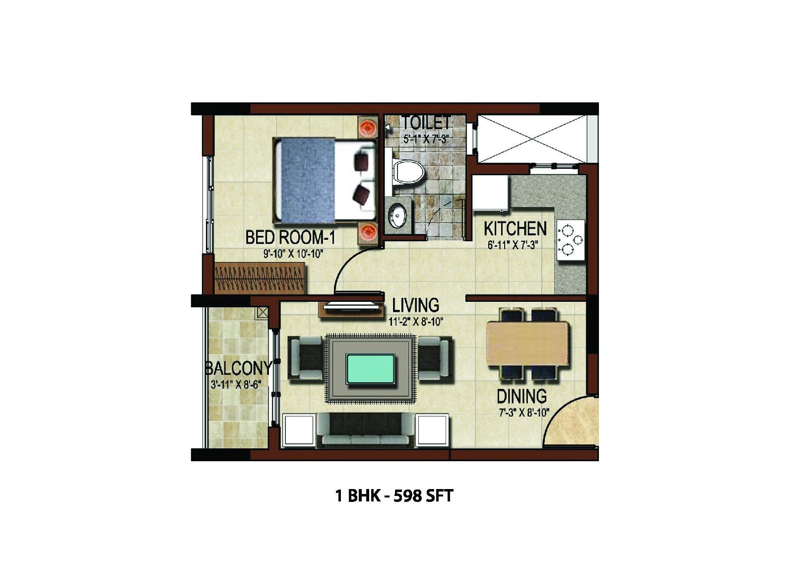 salarpuria east crest apartment 1bhk 598sqft1