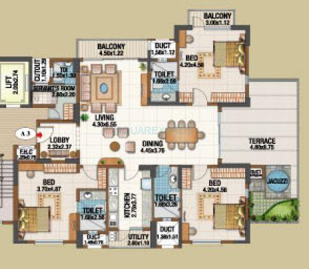 salarpuria gold summit apartment 3bhk 2350sqft1