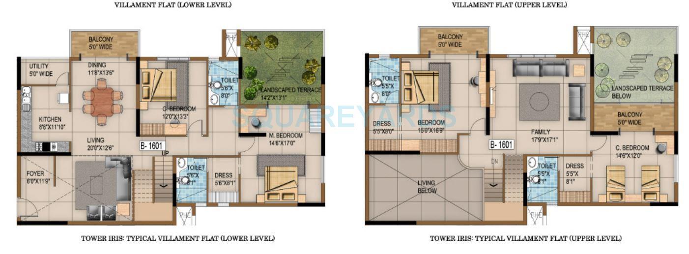 salarpuria luxuria apartment 4bhk 3740sqft1
