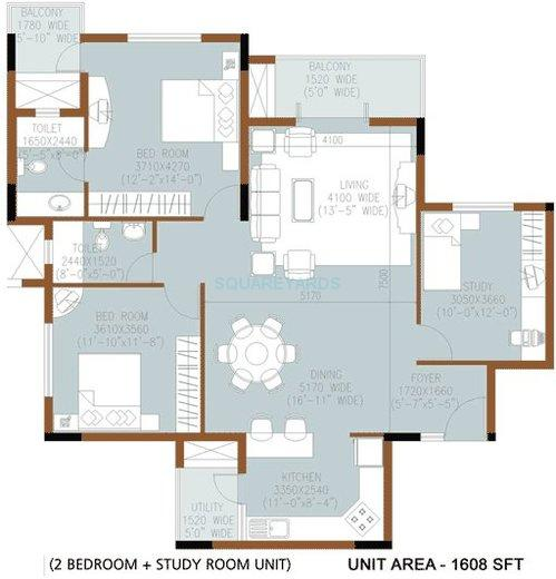 salarpuria sanctity apartment 2bhk 1608sqft1