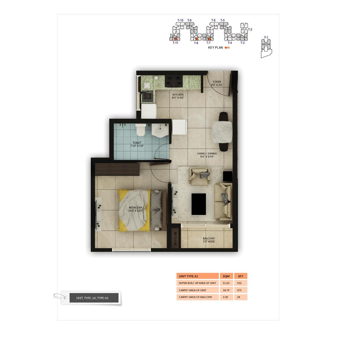 salarpuria sattva misty charm apartment 1 bhk 552sqft 20200915160942