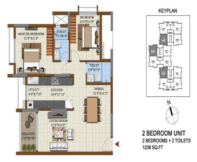 salarpuria sattva opus apartment 2bhk 1239sqft 1