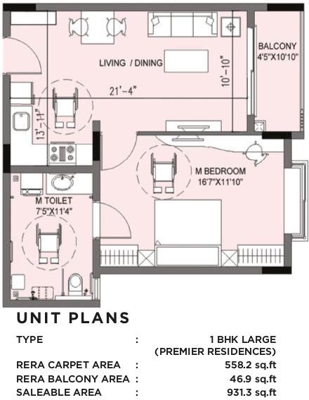 serene the virtuoso apartment 1 bhk 931sqft 20205131205100