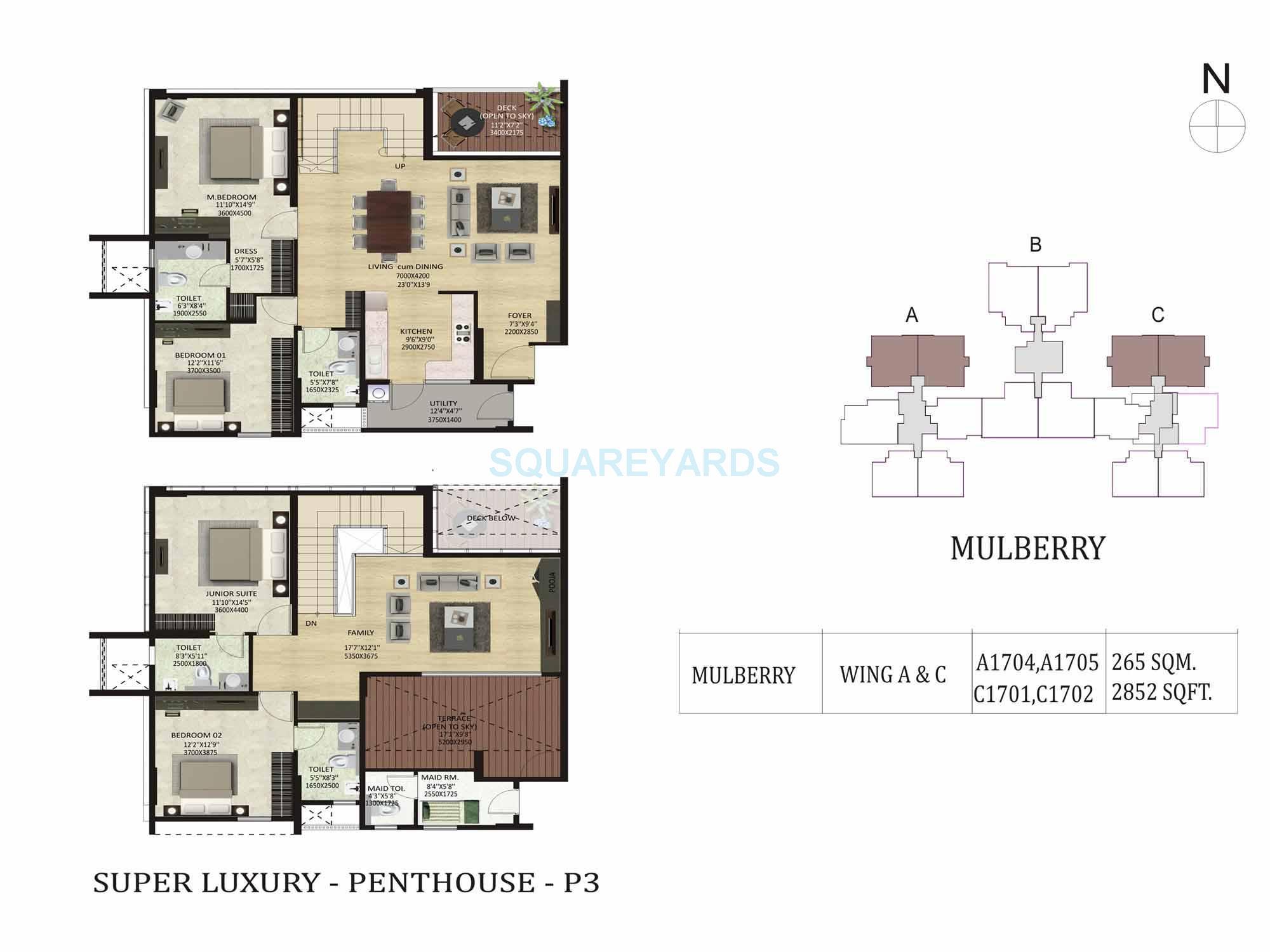 shapoorji pallonji park west apartment 4bhk 2852sqft1