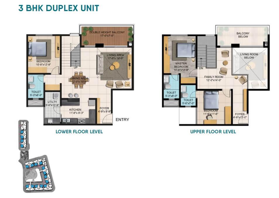 shriram blue apartment 3bhk 1585sqft 1