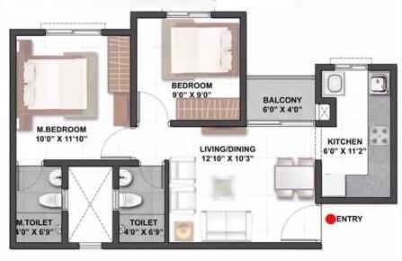 shriram codename yuva apartment 2 bhk 888sqft 20213018133009