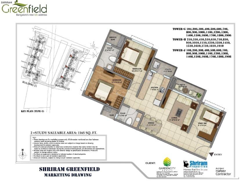 shriram greenfield apartment 2bhk st 1165sqft 1