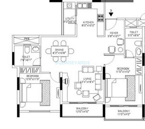 shriram signiaa apartment 2bhk 1270sqft1