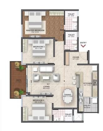 shriram southern crest phase 2 apartment 3bhk 1485sqft01