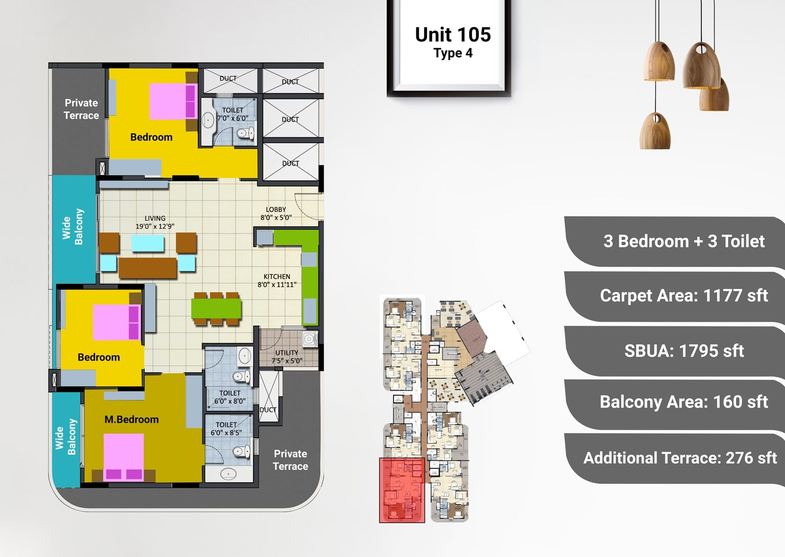 sipani pennantia apartment 3bhk 1177sqft21
