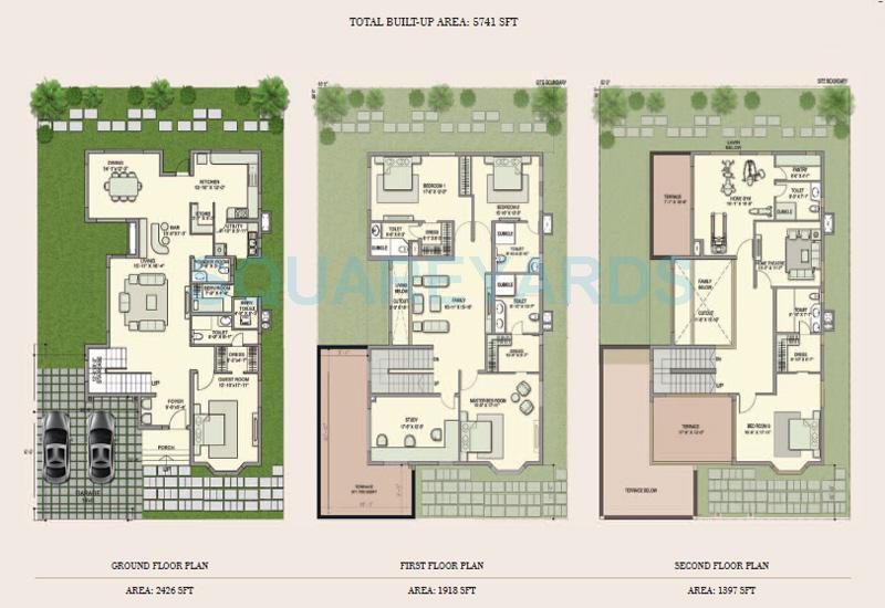 skylark arcadia phase 2 villa 5bhk 5741sqft 1