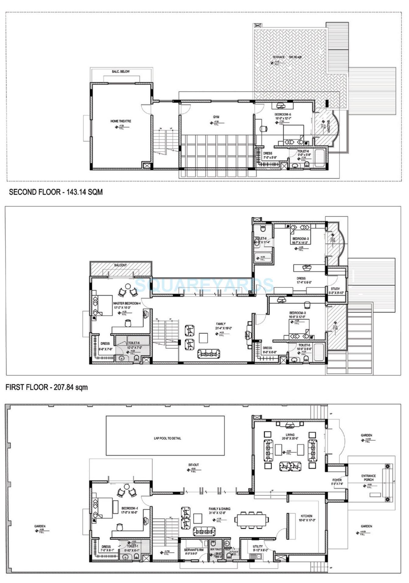 skylark arcadia villa 5bhk 5738sqft 1