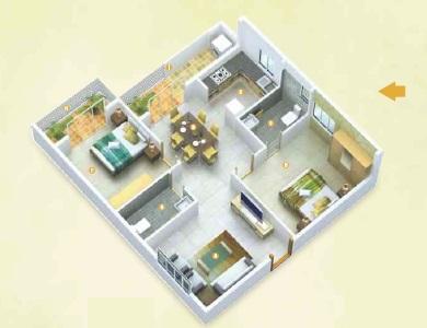 slv fedora apartment 2 bhk 1158sqft 20214912104930