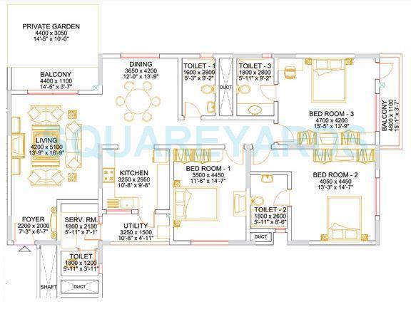 sobha althea apartment 3bhk 2128sqft1