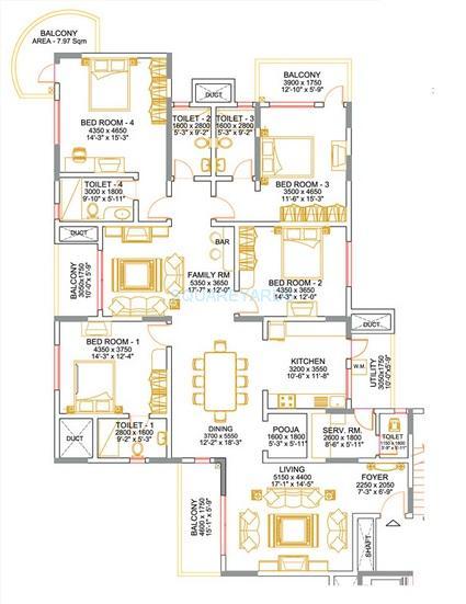 sobha althea apartment 4bhk 2997sqft1