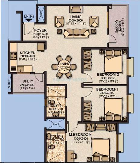 sobha aspire apartment 3bhk 1459sqft1
