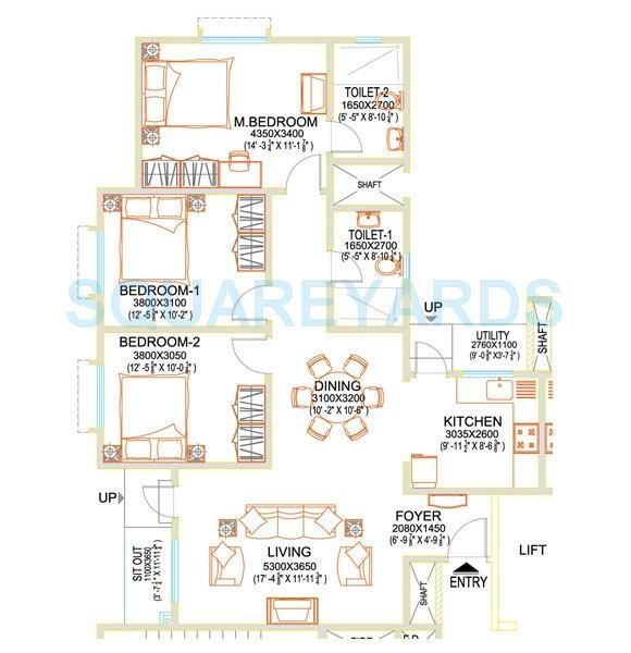 sobha basil apartment 3bhk 1469sqft 20205527185549