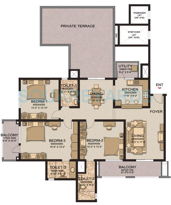 sobha cinnamon apartment 3bhk 2335sqft1