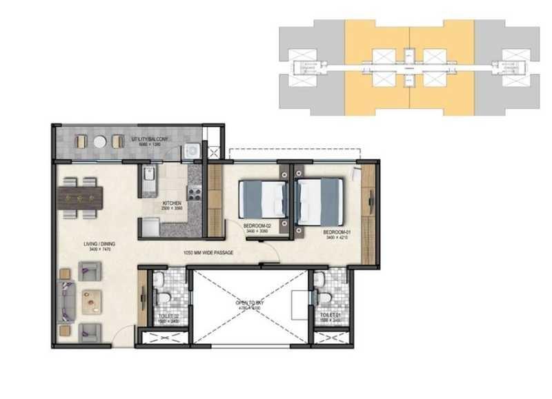 sobha dreams 1 apartment 2bhk 1012sqft 20201130121157