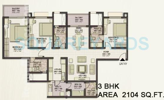 sobha eternia apartment 3bhk 2104sqft1