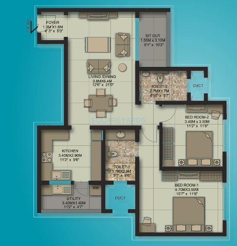 sobha habitech apartment 2bhk 1342sqft1