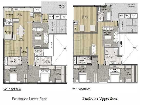 sobha hrc pristine bangalore apartment 4bhk 4112sqft51