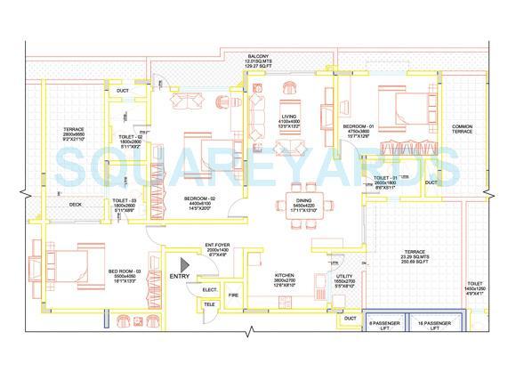sobha lavender apartment 3bhk 2425sqft1