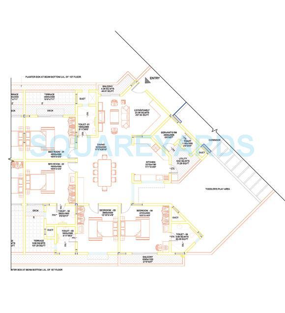 sobha lavender apartment 4bhk 2911sqft1
