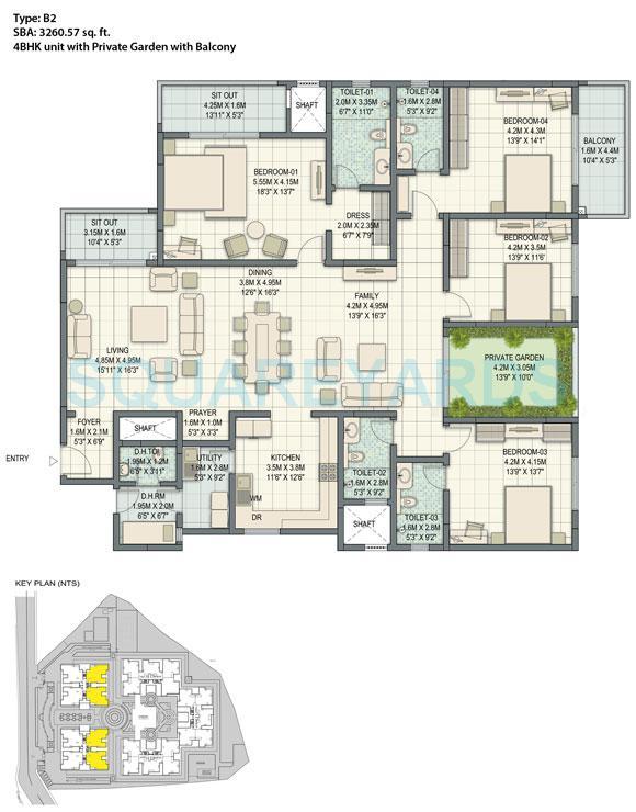 sobha palladian apartment 4bhk 3298sqft1